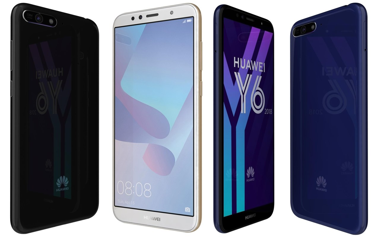 Huawei Y6 2018 All Colors