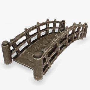 cartoon bridge model