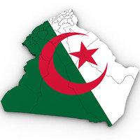 3D algeria country
