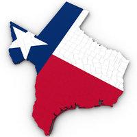 3D political texas