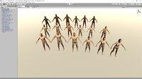 pack human man 3D