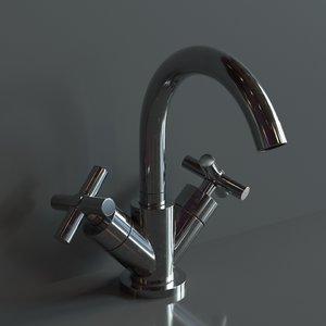 realistic faucet 3D