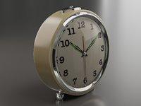 realistic alarm clock pbr model