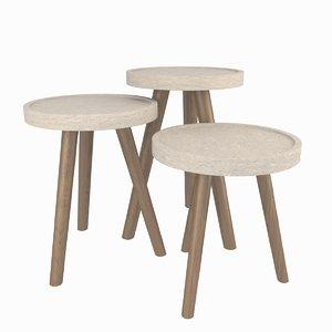 3D table coffeetable coffee