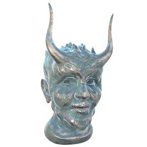3D model bronze devil