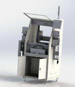 automatic machine glue loading 3D model