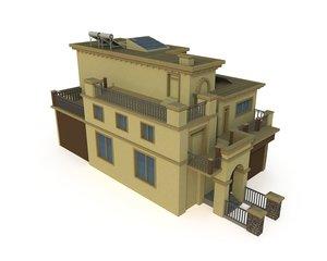 villa lod 3D model