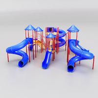 Giant childrens slides