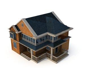 lod windows 3D model
