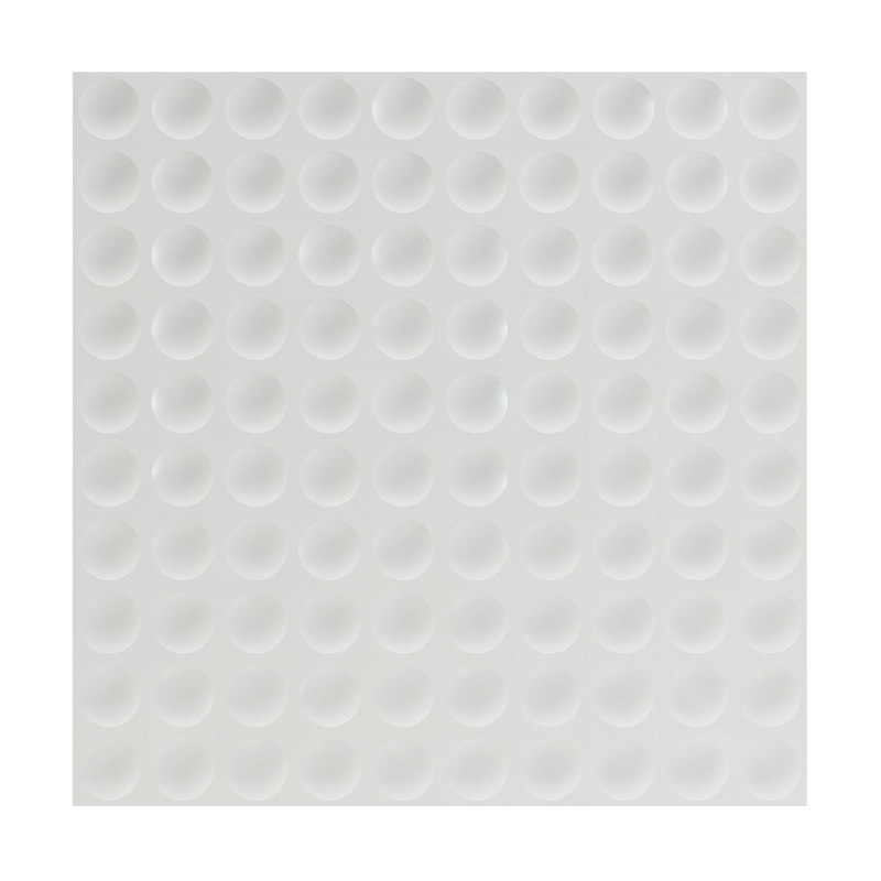 white wall panel modelled 3D model