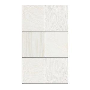 3D model wooden tiles modelled