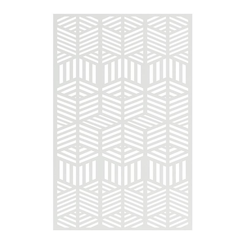white wall panel 3D model