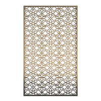 bronze metal wall panel 3D