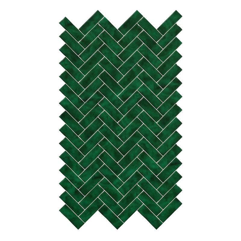 small green wall panels model