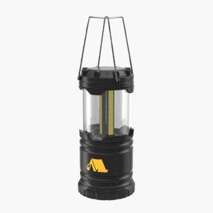 led flash flashlight 3D model