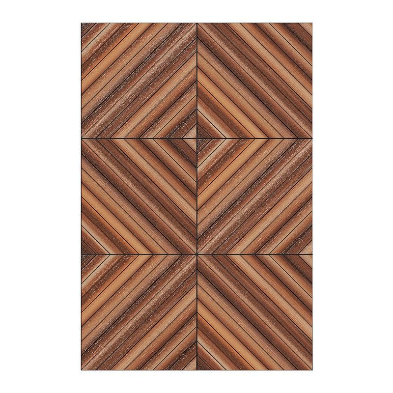 wooden wall model