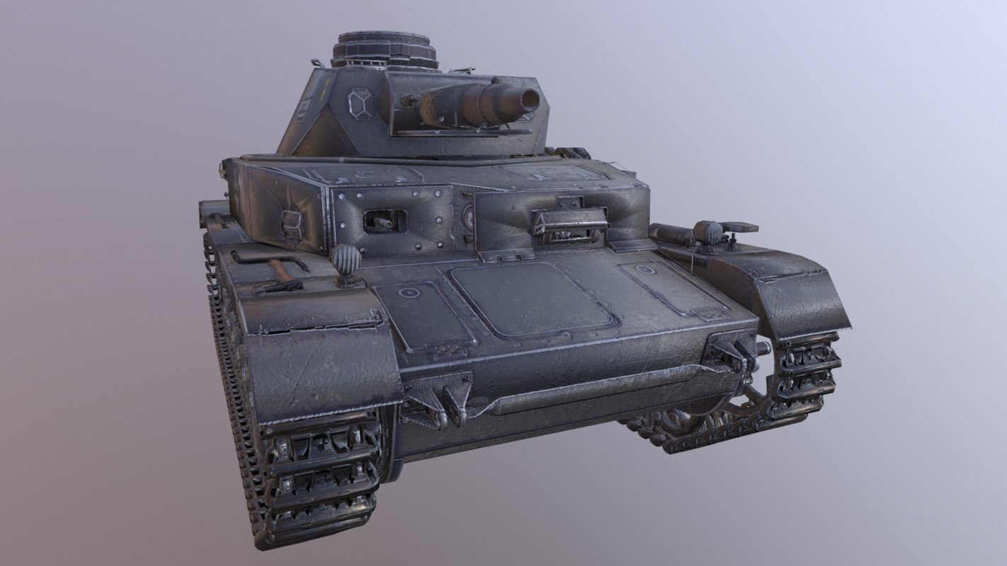 3D panzerkampfwagen iv ausf e