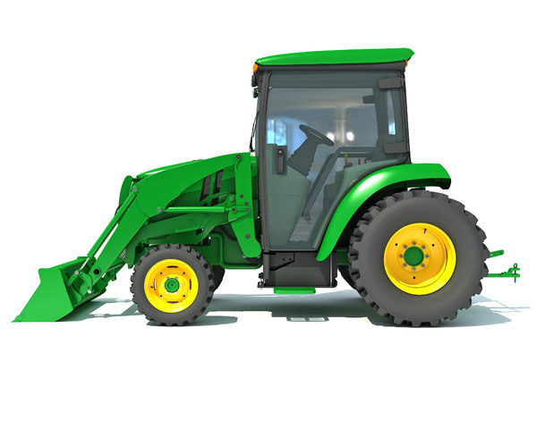 3D compact utility tractor