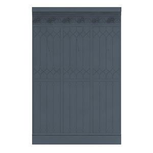 classic decorative wall panel 3D model