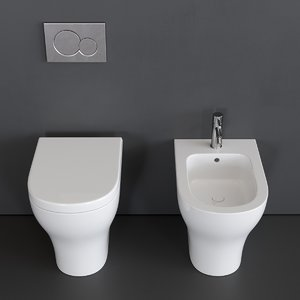 3D model enjoy toilet bidet