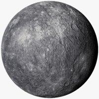 realistic mercury photorealistic 16k 3D