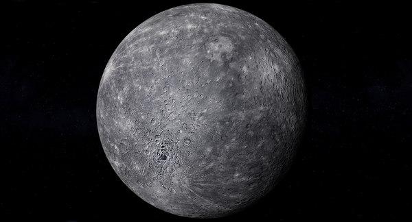 realistic mercury photorealistic 4k model