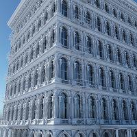 tenement building facades model