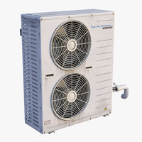 Outdoor AC Twin Unit