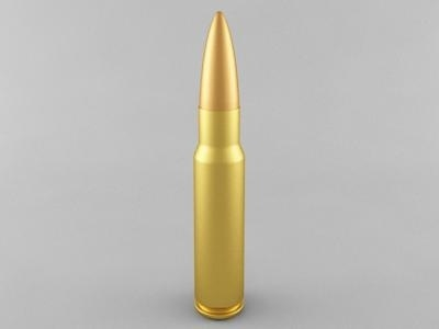 3D 7 62x51 rifle cartridge