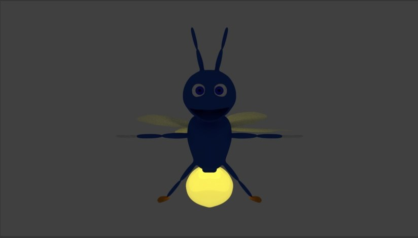 3D model cartoon firefly - TurboSquid 1303092