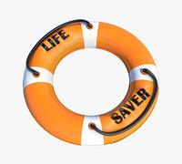 ring life saver 3D