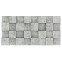3D concrete wall cubes