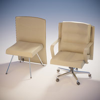 office armchair kit 3D