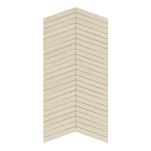 light wood wall panel 3D model