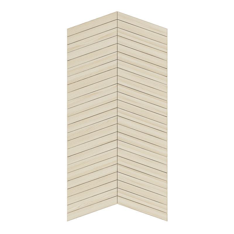 light wood wall panel 3D model