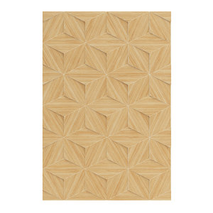 wooden decorative wall panel 3D model