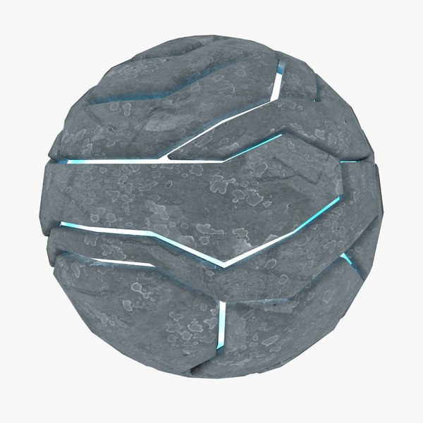 techno sphere 04 3D