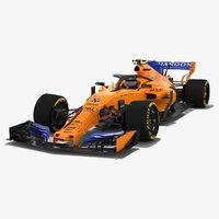 McLaren MCL33B Formula 1 Season 2018