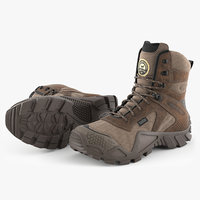 3D model irish setter boots