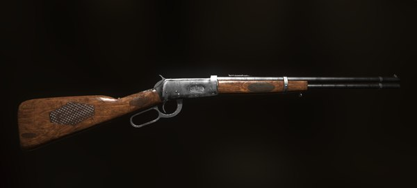 winchester 3D model
