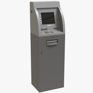 3D atm dab cash machine