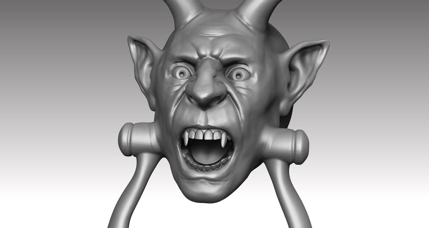 door knocker 3D model