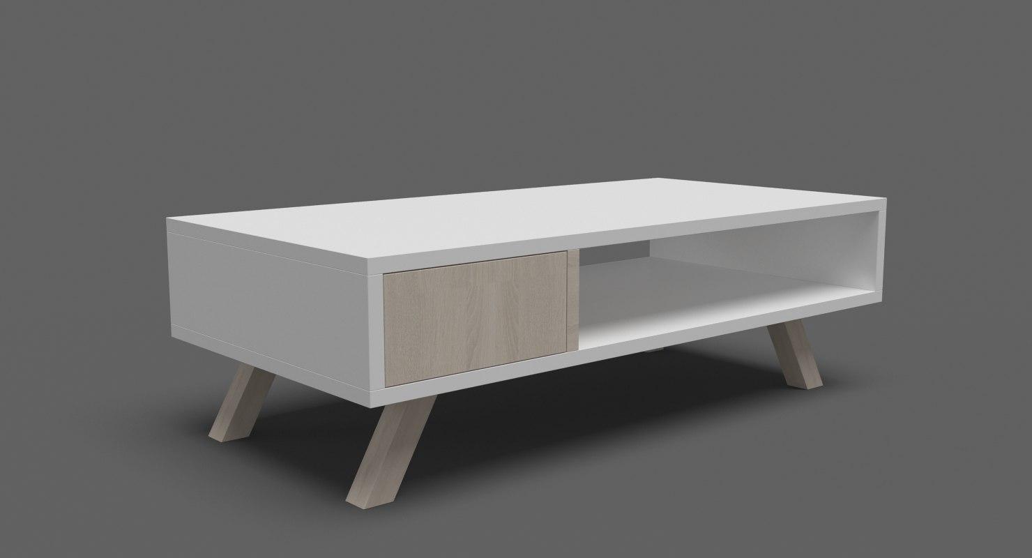 contempoary coffee table 04 model