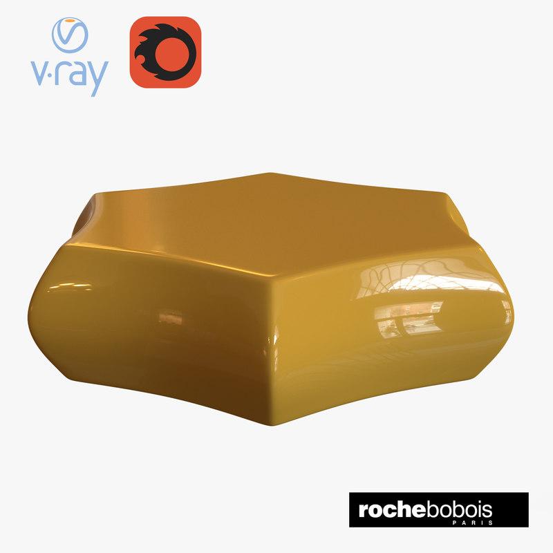 roche bobois carambole cocktail 3D model