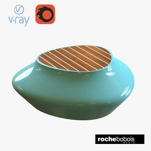 roche bobois cute cut 3D model