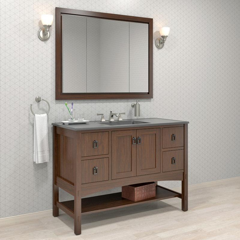 3D furniture bathroom marabou kohler model