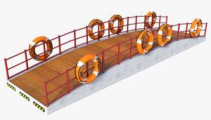 3D stair ship vessel