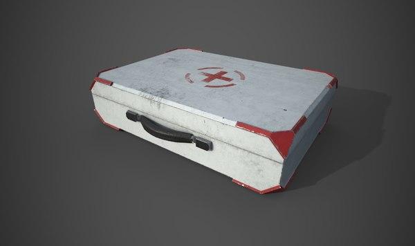 medical case 3D model