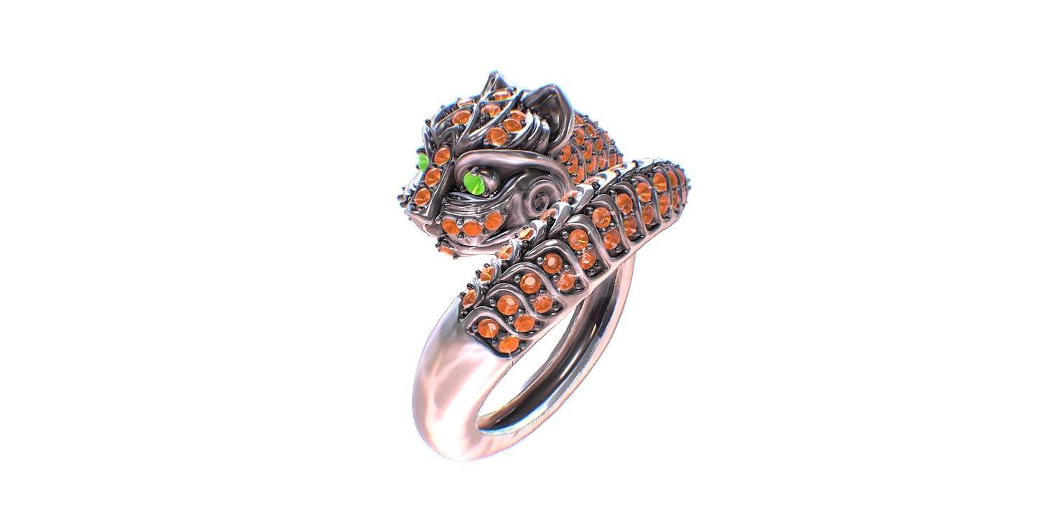 ring cat 3D model