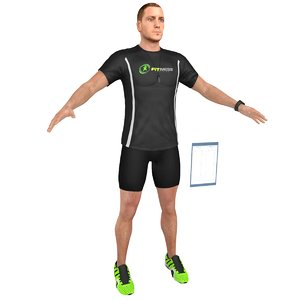 3D fitness coach 3